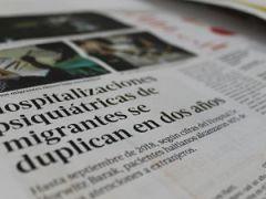 Prensa destaca trabajo de Instituto Psiquiátrico y SSMN ante aumento de usuarios migrantes