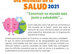 """Día Mundial de la Salud: """"Construir un mundo más justo y saludable"""""""