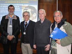 Maestro de la Psiquiatría Gustavo Figueroa expuso sobre bioética ante comunidad del Instituto Psiquiátrico