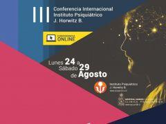 Instituto Horwitz y Clínica U. de Chile organizan nueva versión de Conferencia Internacional en Psiquiatría
