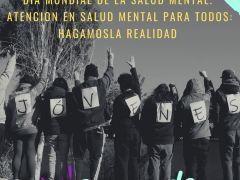 """Jóvenes usuarios impulsan canal informativo bajo el lema del Día Mundial de la Salud Mental: """"Atención en salud mental para todos"""""""