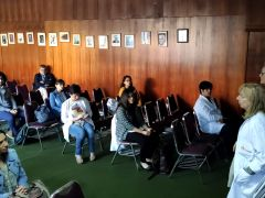 Bajo medidas de prevención por Covid-19 Instituto Psiquiátrico recibió a becados en Psiquiátrica 2020