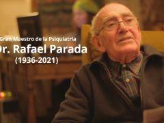 Instituto Psiquiátrico despide a Gran Maestro de la Psiquiatría Dr. Rafael Parada Allende